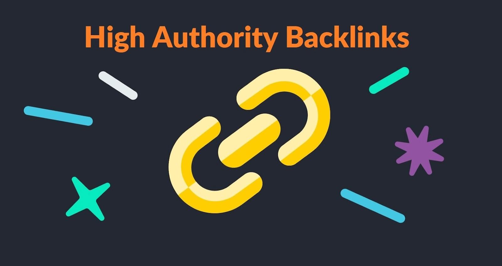 High-Authority Backlinks