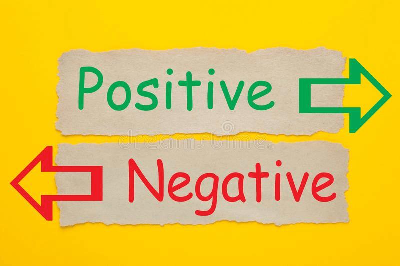 positively or negatively